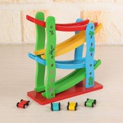 Автотрек деревянный Wood Toys
