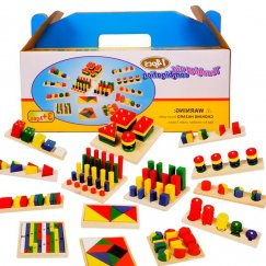 Набор Мотессори 14 в 1 Wooden Toys