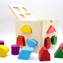 Куб сортер деревянный Qiang Ma