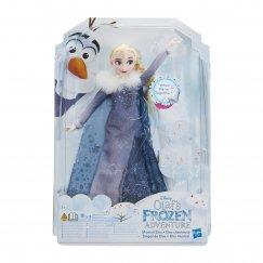Интерактивная кукла Hasbro Disney Холодное сердце Поющая Эльза, 28 см, C2539