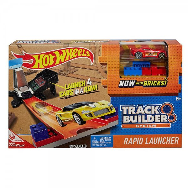 Hot Wheels DWW94 Автотрек HOT WHEELS Track Builder 2 трассы DWW94