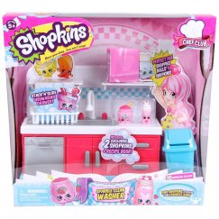 Куклы Shopkins Набор Кухня с раковиной