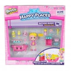 Игровой набор Moose Shopkins Счастливые места Купание кролика