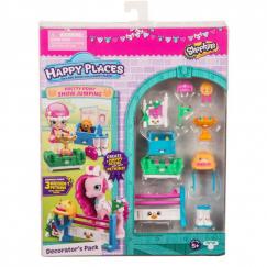 Shopkins 56681 Игровой набор Moose Shopkins Happy Places Конкурс прыжков через барьер для пони