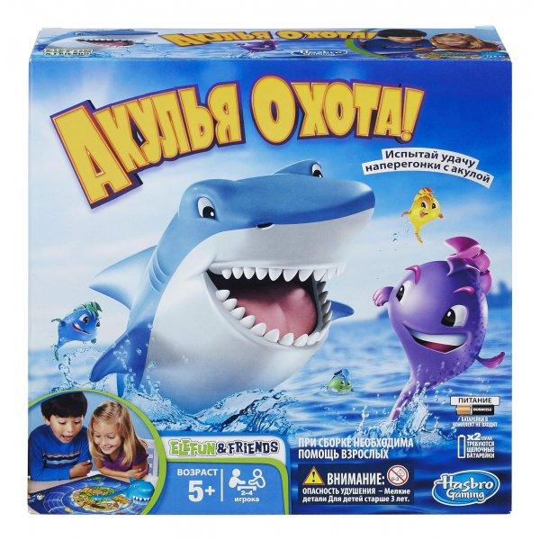Настольная игра Hasbro 33893 Акулья охота