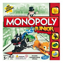 Настольная игра Hasbro A6984 Игры Monopoly Моя первая монополия
