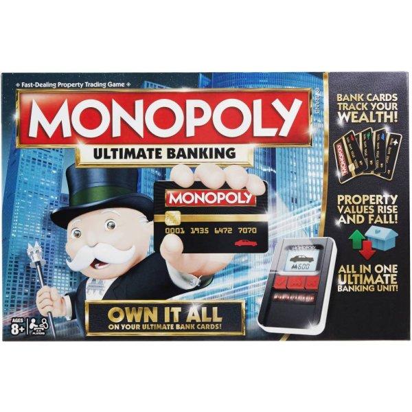 Монополия B6677 Настольная игра Hasbro Monopoly B6677 Монополия с банковскими картами (обновленная)