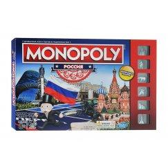 Настольная игра Hasbro Monopoly B7512  Монополия Россия (новая уникальная версия)