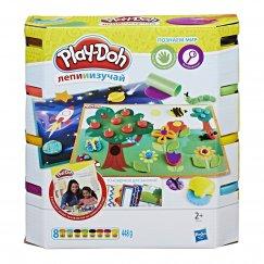 "Набор Hasbro Play-Doh Плей До ""Познаем Мир"""