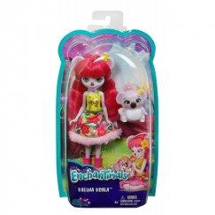 Кукла Enchantimals Карина Коала с любимой зверюшкой, 15 см, FCG64