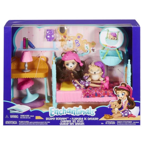 EnchanTimals FRH44/FRH46 Кукла Mattel Enchantimals FRH46 Сюжетные игровые наборы