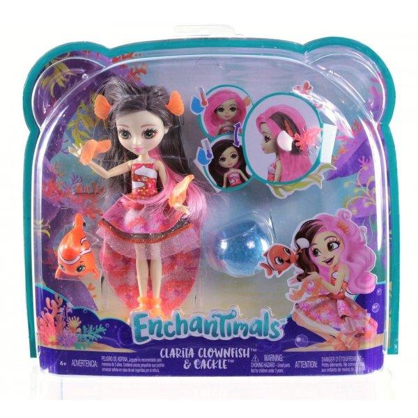 EnchanTimals en-FKV56 Кукла Mattel Enchantimals FKV56 Морские подружки с друзьями