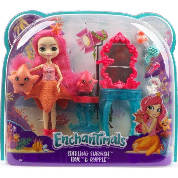 EnchanTimals en-FKV59 Кукла Mattel Enchantimals FKV59 Морские подружки с тематическим набором