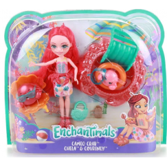 Кукла Mattel Enchantimals FKV60 Морские подружки с тематическим набором