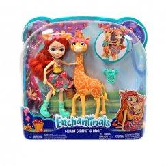 Enchantimals FKY74 Кукла с большой зверюшкой Жираф