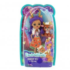 Mattel Enchantimals FNH23 Кукла Данесса Оления, 15 см