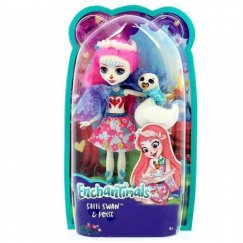 Mattel Enchantimals FRH38 Кукла с питомцем - Лебедь Саффи