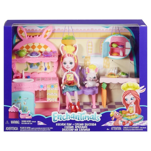 EnchanTimals en-FRH47 Кукла Mattel Enchantimals FRH47 Сюжетные игровые наборы