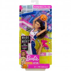 Кукла Barbie Безграничные движения Баскетболистка, 30 см, FXP06