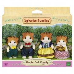 5290 Sylvanian Families Семья рыженьких котов
