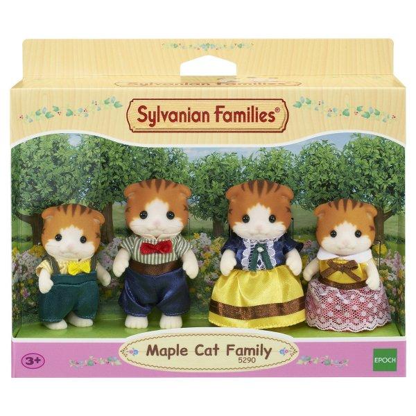 Семейки жителей 5290 Набор Sylvanian Families Семья рыженьких котов