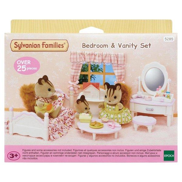5285 5285 Sylvanian Families Кровать с туалетным столиком