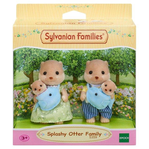 5359 Набор Sylvanian Families 5359 Семья выдр