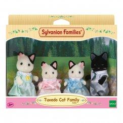 Набор 5181 Sylvanian Families Семья чёрно-белых котов