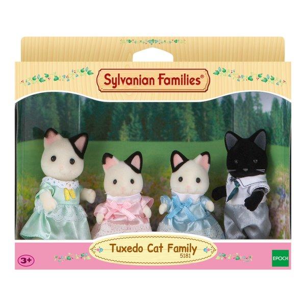 Семейки жителей 5181 Семья черно-белых котов