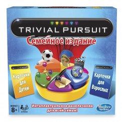 Настольная игра Hasbro Игры Trivial Pursuit Тривиал Персьюит. Семейное издание 73013