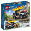 Набор лего - Конструктор LEGO City Great Vehicles Сплав на байдарке