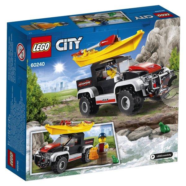 LEGO City 60240 Конструктор LEGO City Great Vehicles Сплав на байдарке