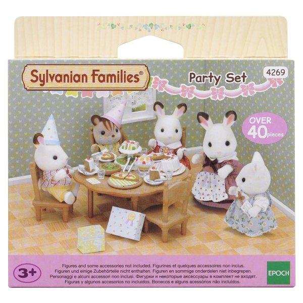 Мебель и аксессуары 2932/4269 Набор Sylvanian Families 4269 Вечеринка