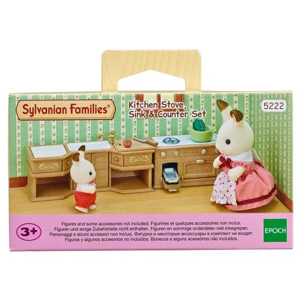 Игровые наборы 5222 Набор Sylvanian Families 5222 Кухонный гарнитур