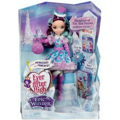 Кукла Mattel Ever After High Заколдованная зима  DPP79 (DPG87) Игровой набор Меделин Хеттер