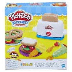 Пластилин Hasbro Play-Doh E0039 Плей До  Тостер