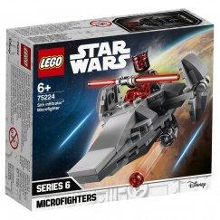 LEGO STAR WARS Микрофайтеры: Корабль-лазутчик ситхов 75224