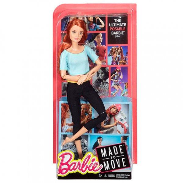 Barbie DPP74 Барби серия Безграничные движения Йога Рыжая