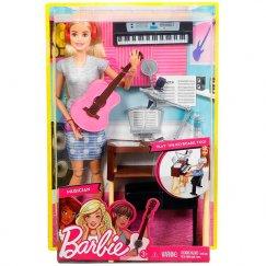 Кукла Barbie FCP73 Музыкант с гитарой и синтезатором, 29 см