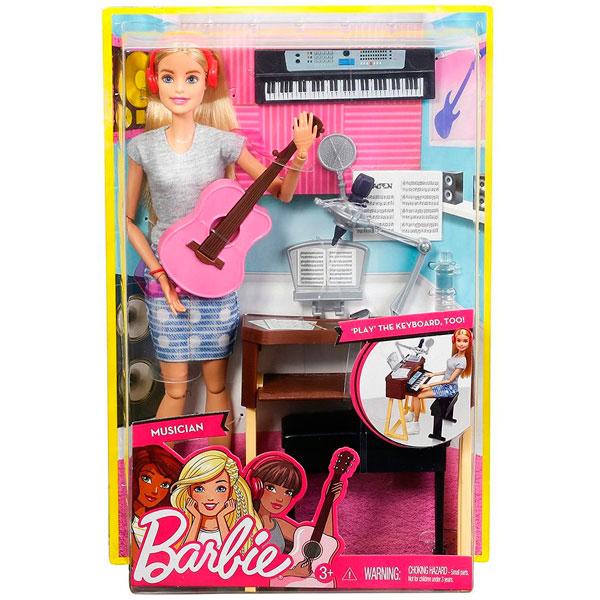 Barbie BE-FCP73 Кукла Mattel Barbie FCP73 Барби Музыкант