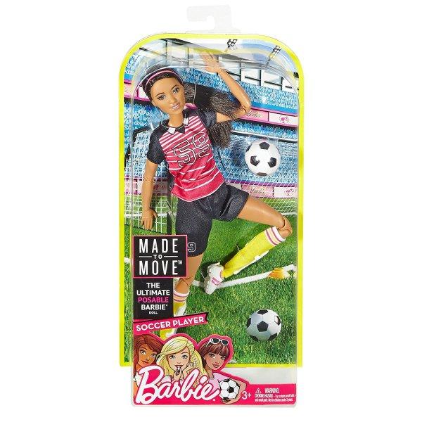 Barbie BE-FCX82 Кукла Mattel Barbie FCX82 Барби Футболистка