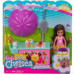 Mattel Barbie FDB33 Барби Челси и набор мебели