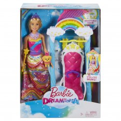 Кукла Barbie Дримтопия Радужное королевство FJD06