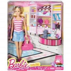 "Кукла Mattel Barbie DJR56 Набор Барби ""Прогулка с питомцем"""
