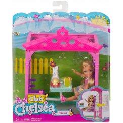 Mattel Barbie FDB34 Барби Челси и набор мебели