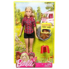 Кукла Barbie FDB43/FDB44 У костра