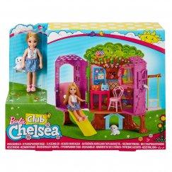 Кукла Mattel Barbie FPF83 Набор Барби «Домик на дереве Челси»