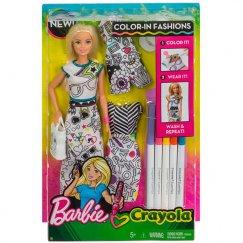 Набор Barbie одежда раскраска FPH90