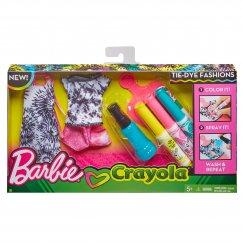 Barbie Комплект одежды Crayola для куклы Барби FPW12/FPW13