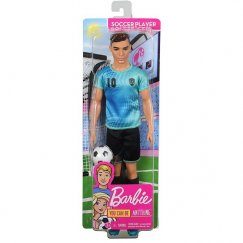 Кукла Барби Кен карьера Футболист FXP01 FXP02